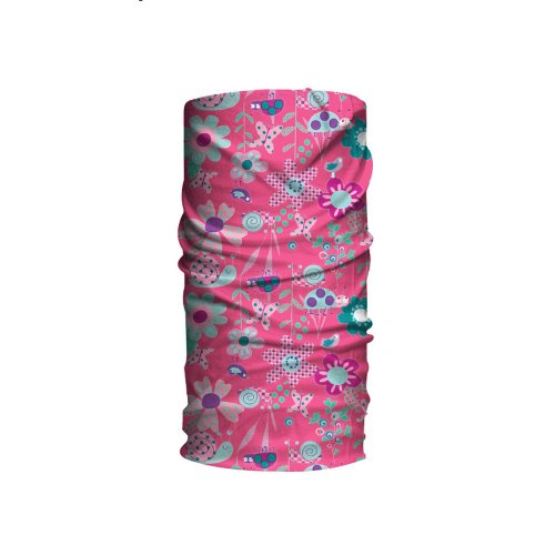 HAD Head Accessoires Kids Funktionstuch Bugz Pink, One Size Preisvergleich