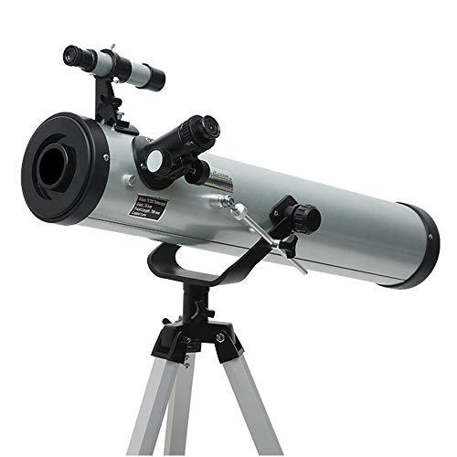 DDSGG Telescopio oculare, Travel Scope con treppiede Super Leggero, Buon telescopio da Viaggio con Zaino per Bambini e Principianti