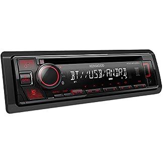 Kenwood-KDC-BT430U-CD-Autoradio-mit-Bluetooth-Freisprecheinrichtung-Hochleistungstuner-Soundprozessor-USB-Android-und-Spotify-Control-4×50-Watt-Rot-Schwarz