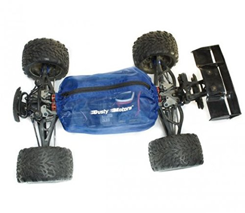 Preisvergleich Produktbild Dusty Motors Shroud Traxxas Summit 5607 56076 Dreck-Schutz blau by mobo racing