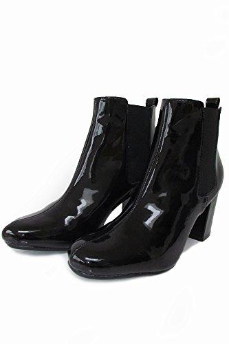 Shoehorne Nikki, Boots Chelsea Femme Noir