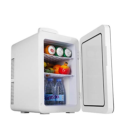 Electric Cool Box 24-Liter Compact Cooler/Warmer Mini Fridge/Wine Cooler for Cars, Road Trips, Homes, Offices & Dorms Portable Car Refrigerator (Color, Size : 37.7 * 32.5 * 46.3cm)