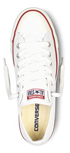 Converse Converse Sneakers Chuck Taylor All Star M7652, Unisex-Erwachsene Sneakers, Weiß (Optical White), 43 EU (9.5 Erwachsene UK) -