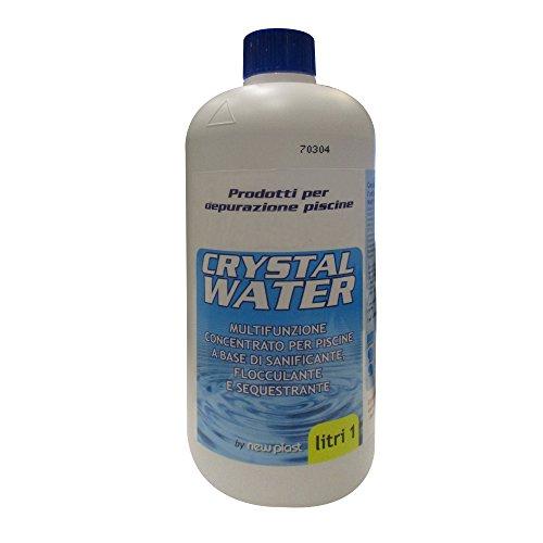 New Plast 0772multifunktionelles Kristallwasser, 1 Liter