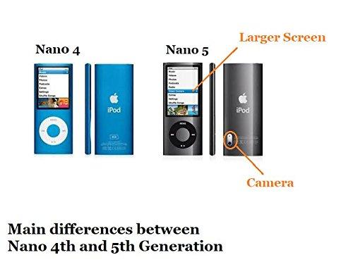 Gear4 IceBox Carbon für iPod Nano 4G, schwarz/grau (Carbon Reynolds)