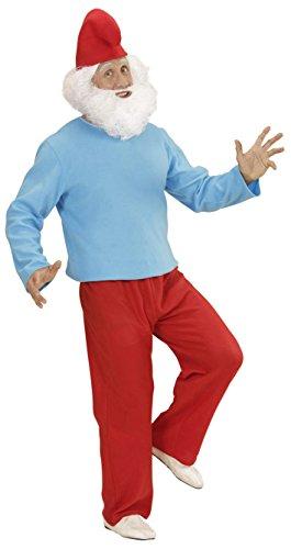 Imagen de widmann 02373  disfraz adulto grandes enanos, túnica, pantalones y sombrero, talla l alternativa