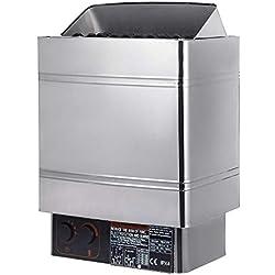 PhenixGa Poêle De Sauna électrique Poêle De Sauna avec Contrôle Thermostatique Sauna Poêle Chauffe-sauna Sauna Heater (9KW)