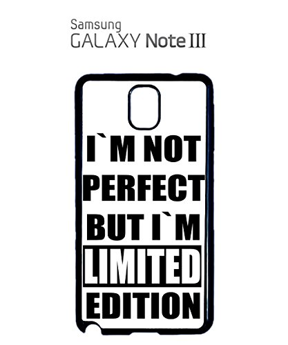 I Am Not Perfect But I Am Limited Edition Mobile Cell Phone Case Samsung Galaxy S5 Mini Black Noir