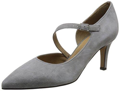 Tamaris 1-1-24413-20 Damen Pumps, Slipper, Sommerschuhe für Die Modebewusste Frau Grau (Grey), EU 37