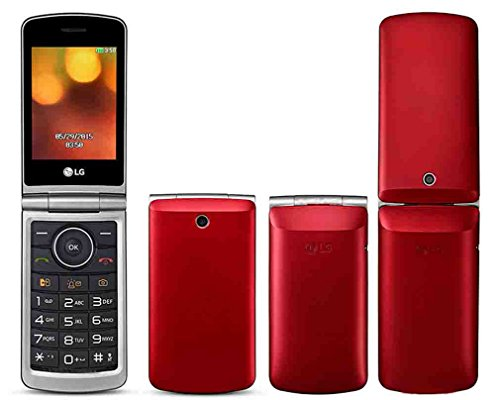 LG Flip Phone Alter Unlocked GSM Nur 2G G360 Dual-SIM-Duo MP3-Kamera Big Button E-Mail LCD 3.0