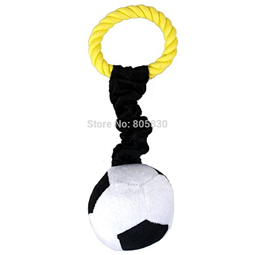 Sixmad (TM) Haustier-Pl¨¹sch-Kugel-Design Spielzeug mit einem Handgriff einfach Fu?ball Basketball zu tragen und Rugby Shaped Soundded Hund, Werkzeug