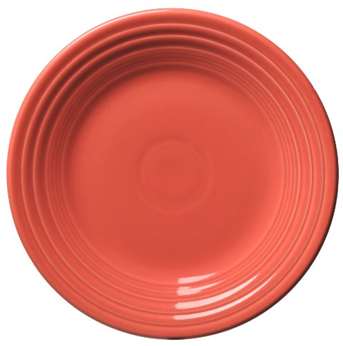 Fiesta 9-Inch Luncheon Plate, Flamingo by Homer Laughlin Fiestaware