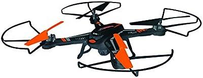 XciteRC 15002220 - RC cuadricóptero - Rocket 260 3D, 4 canales drone RTF con 2 MP cámara, negro