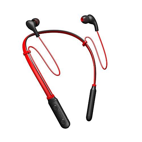 steanum Bluetooth Kopfhörer Nackenbügel Wireless, Wasserfestes Sport In Ear Leichtes Nackenband Headset mit Geräuschreduzierung und In-Line Mikrofon für iPhone,iPad,Samsung,Nexus,HTC,Huaiwei und mehr