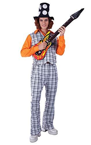 Male Star Rock Kostüm - ORION COSTUMES Adult The Bangin' Man Costume