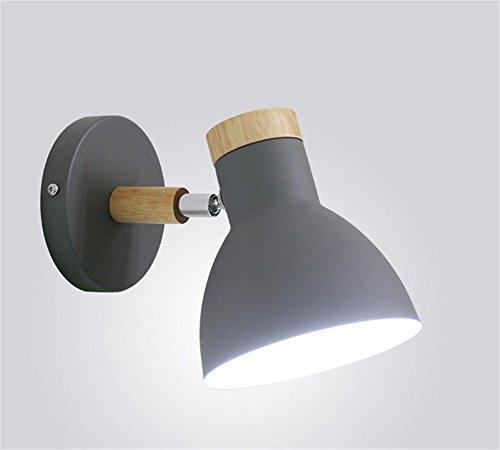 wall lamp bracket light Wandlampe Wand Lampe Klammer Licht Wandlichter Wandbeleuchtung Sconces Energiesparlampe der Wand kreativ Lampenschlafzimmer Gang graues F -