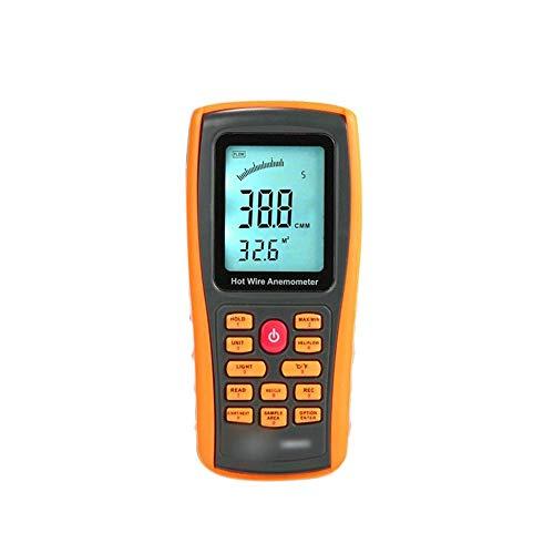 LHQ-HQ Anemómetro Interfaz de Pantalla Digital térmica del...