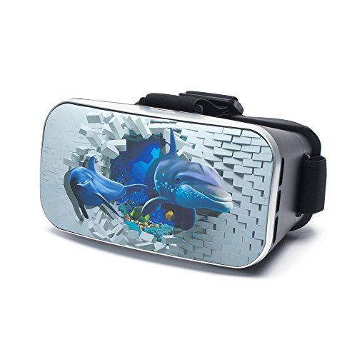 aricona Design VR Virtual Reality Brille – Video Gaming Headset Box für Filme & Spiele in 3D...