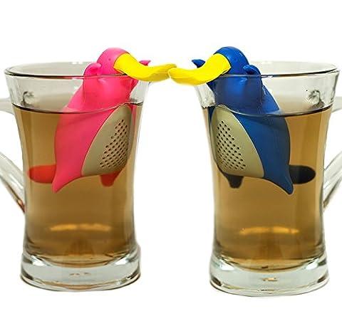 Tankerstreet Lot de 2Infuseurs à thé Happy Cute Platypus Couple