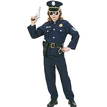 Widman - Disfraz de policía para niño, talla 8 - 10 años (73167)