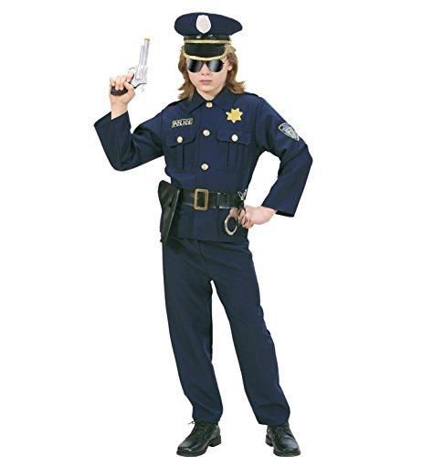 Imagen de widman  disfraz de policía para hombre, talla 5  7 años 73166