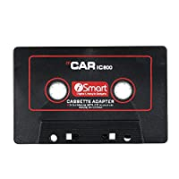 KKmoon Audio Aux Car Cassette Tape Adapter Audio AUX Car Cassette Tape Adapter Converter 3.5MM Fit for IOS Andriod Phone MP3