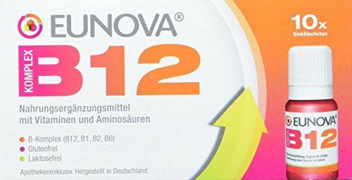 Eunova B12 Komplex Trinkfläschchen, 10 St.