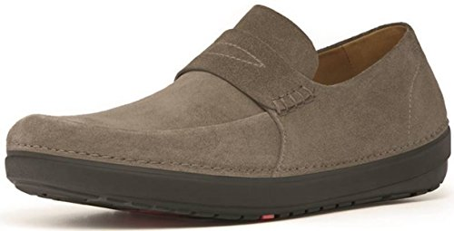 FitFlop Flex Suede, Mocassins homme Bungee Cord