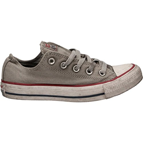 CONVERSE LIMITED EDITION DAMEN ALL STAR CANVAS GRAU SNEAKERS (Limited Edition-stoff)