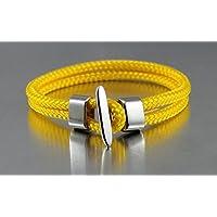 Bracciale corda nautica DK58 giallo marittima e sportivo da dünenkinder