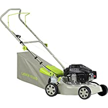 Lawnking - Podadora manual de gasolina, Empuje Gasolina Cortadora De Césped, 40 cm