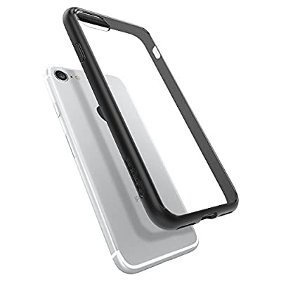 iPhone Case, Spigen [Ultra Hybrid] Air Cushion Technology Clear Back Cover and TPU Bumper Case Cover for iPhone 7Case Iphone 7