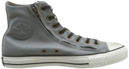 Converse Chuck Taylor All Star Rc Double Leather Zip, Baskets mode mixte adulte Gris (Gris)