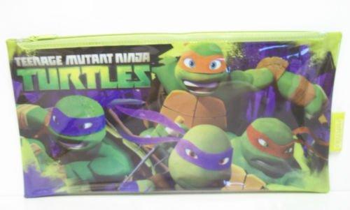 Presupuesto dones Teenage Mutant Ninja Turtles estuche regalo de la escuela plana grande