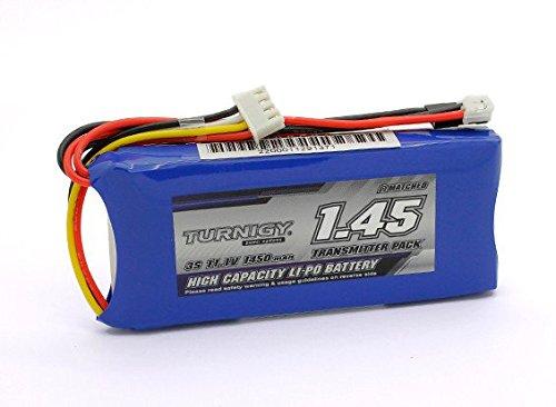 Turnigy 1450mAh 3S 11,1v Sender Akku Lipoly Pack Lipo Senderakku kompatibel mit Futaba und JR Graupner von Modellbau Eibl®