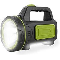 Torcia led ricaricabile USB potente da 135000 lumen 6000mah con luce laterale Torcia impermeabile per escursionismo di…