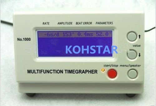 KOHSTAR Multifunction Timegrapher NO.1000 Watch Timing Machine Calibration Tools by Kohstar