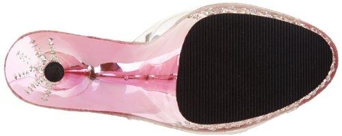 Pleaser Stardust-701, Sandali Con Tacco da donna Clr/Pink Chrome