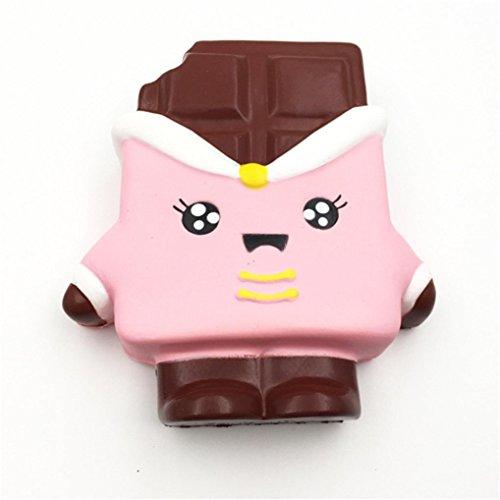 PINEsong Squeeze Druck Helfer Weiche Jumbo Schokoladen duftend Langsam Rising Spielzeug Geschenke (Kostüm Ideen 2 Jährigen Halloween Jungen)