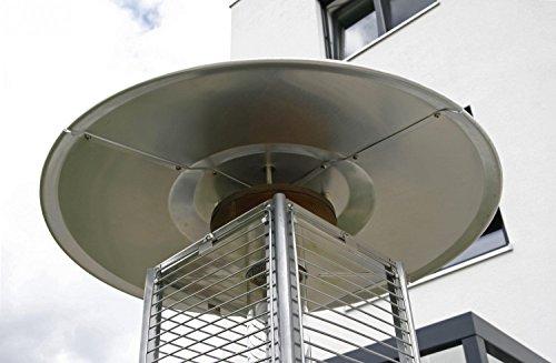 empasa Gasheizer Heizpilz 'Optical Pro' SCHWARZ MATT Heizstrahler Terrassenheizer; - 9