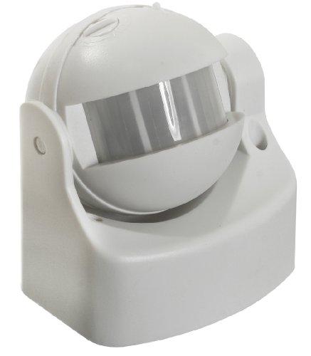 As-schwabe 43801 infrarouge détecteur de mouvement 180°, extérieur blanc