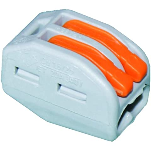Wago 222-412 Cable splitter Grey cable splitter/combiner - cable splitters or combiners (Grey)