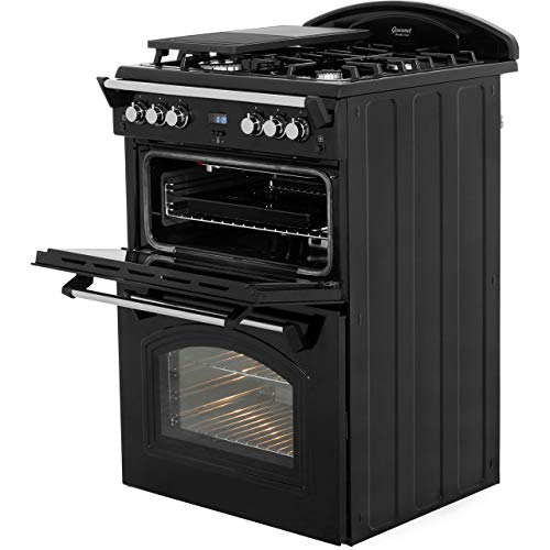 41XfF95NctL. SS500  - Leisure GRB6GVK Gas Range Cooker Free Standing Black