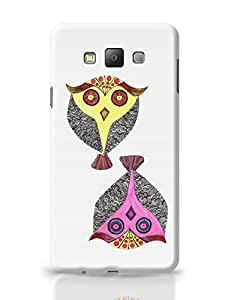 PosterGuy Owls Line Art Graphic Design Samsung Galaxy A7 Covers