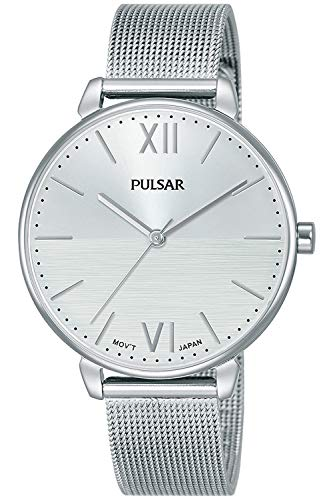 Pulsar Casual Montre Femme Analogique Quartz avec Bracelet Acier Inoxydable PH8445X1