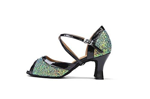 Miyoopark - Ballroom donna Green-7cm Heel