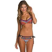 mingtai costumi da bagno push up mare sexy costume da bagno a fascia brasiliana piscina backless bikini donna due pezzi beachwear trikini