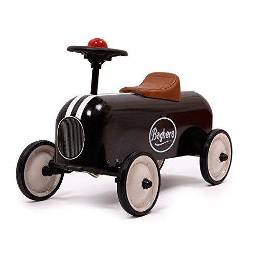 Preisvergleich Produktbild Baghera 802 - Rutscher Racer, schwarz, Metall, 57x35x40 cm, 1-3 Jahre, Rutschauto