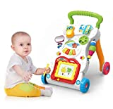 #10: Sajani My First Step Baby Activity Walker White - Toddler Learning Toys for 6 Months -15 Months Old
