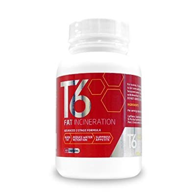 Weight Management Systems T6 Fat Burner - Pack of 60 Capsules from Weight Management Systems